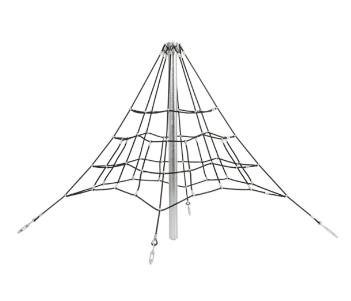 2 m kötélpiramis