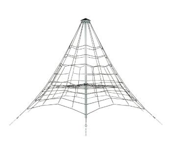 3,5 m Kötélpiramis