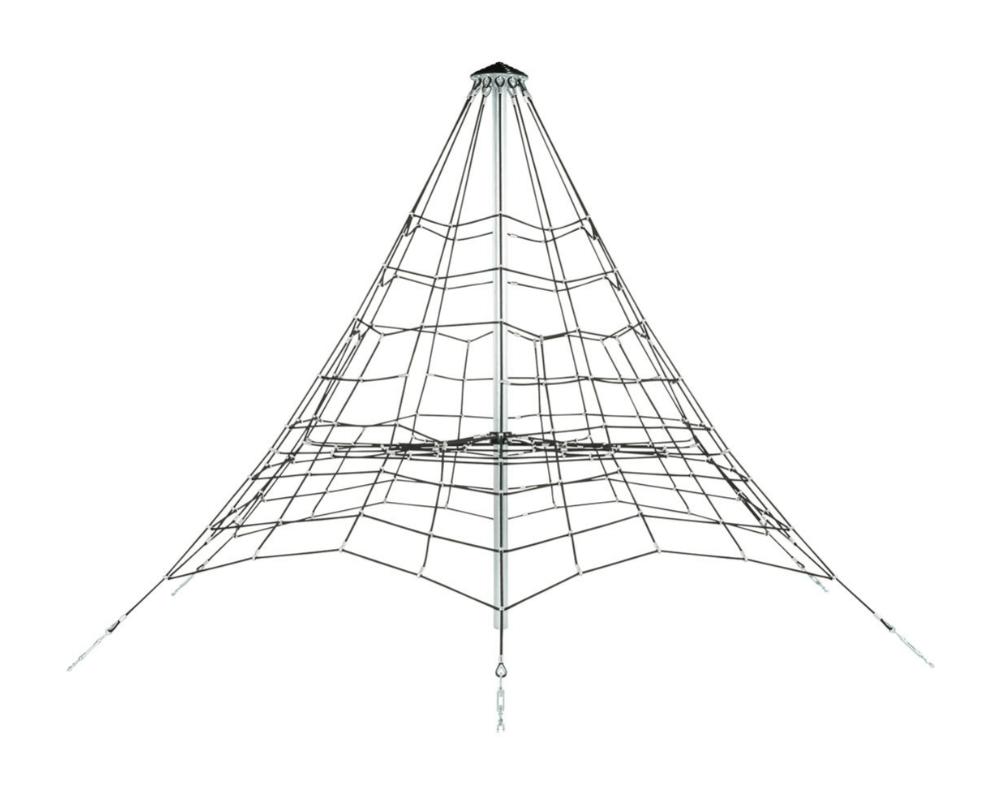 FLFJ302 3,5 m Kötélpiramis