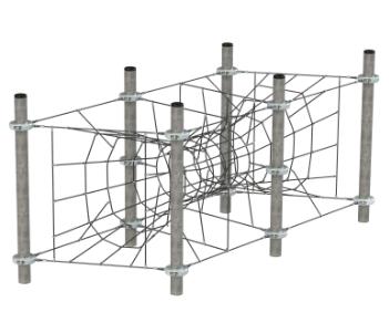 FLFJ316 mászóháló portál