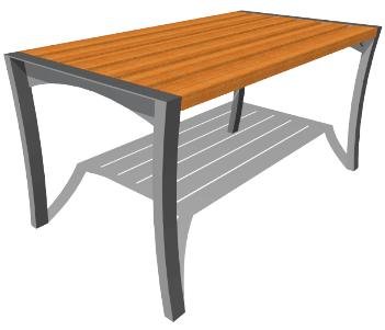 FLPB101-park-berendezes-asztal-on