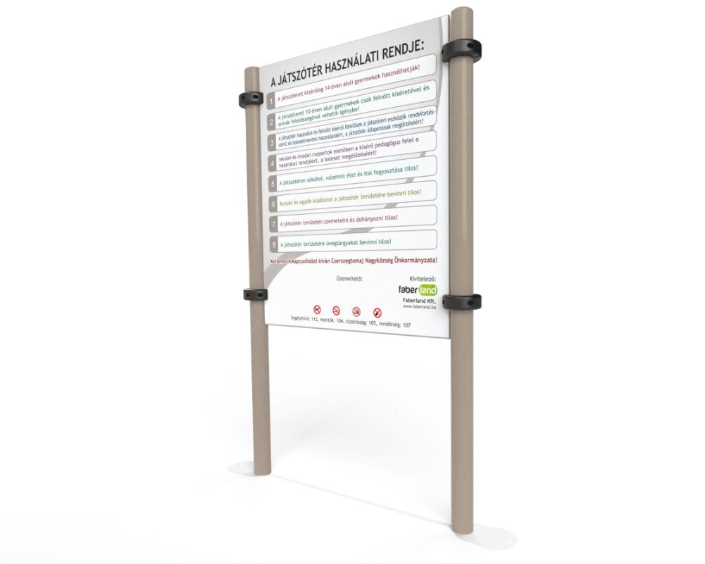 FLPB501-park-berendezes-informacios-tabla