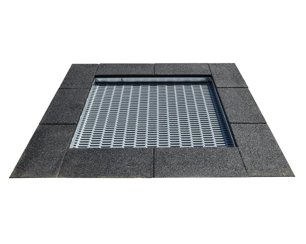 FLTR003 négyzet alakú trambulin XS
