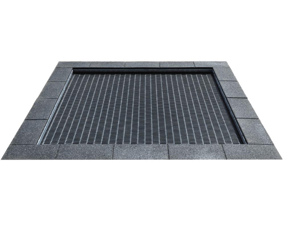 FLTR006 négyzet alakú trambulin L