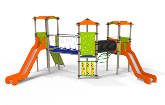 Műszaki tartalom Játszóvárak, Fém játszótéri eszköz